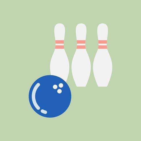 Illustration de l'icône de bowling