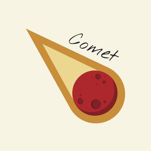Vektor des Kometen
