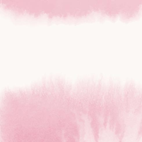 Pink watercolor style banner vector