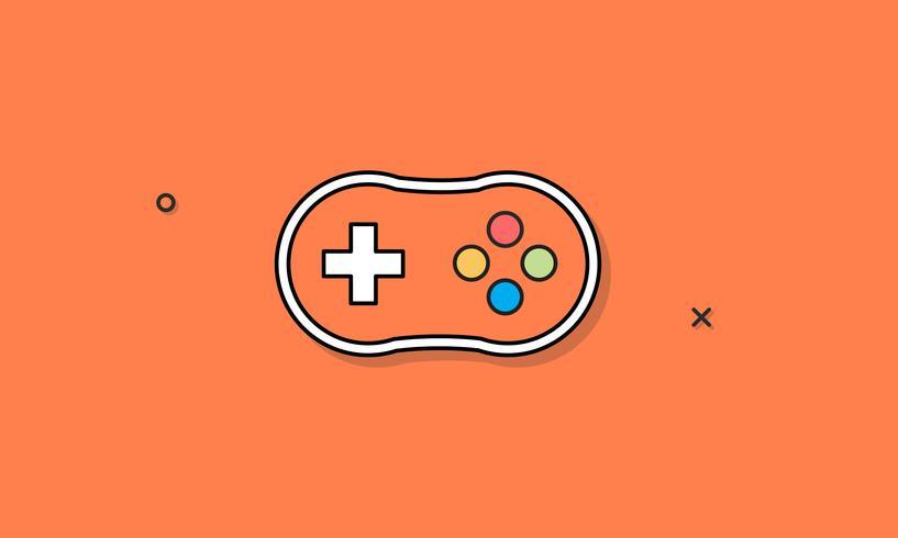 Ilustración del controlador de juego