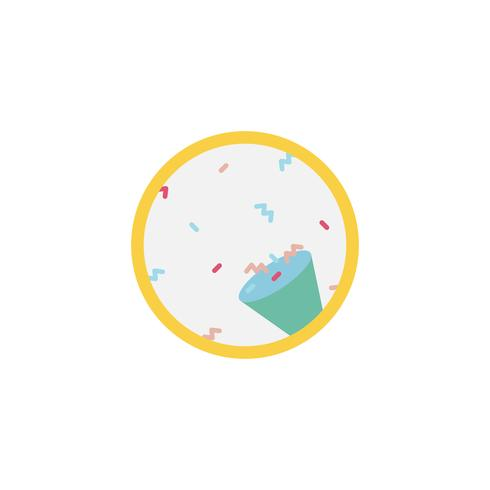 Illustration de l'icône d'anniversaire