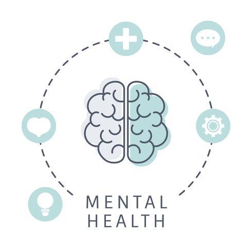Mental hälsa förstår hjärnvektorn