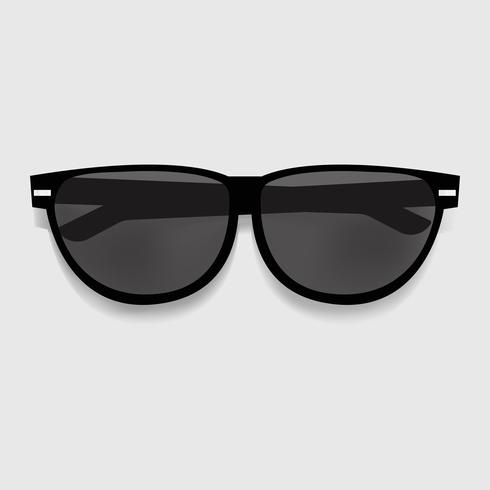 Black Sunglasses Graphic Illustration Vector