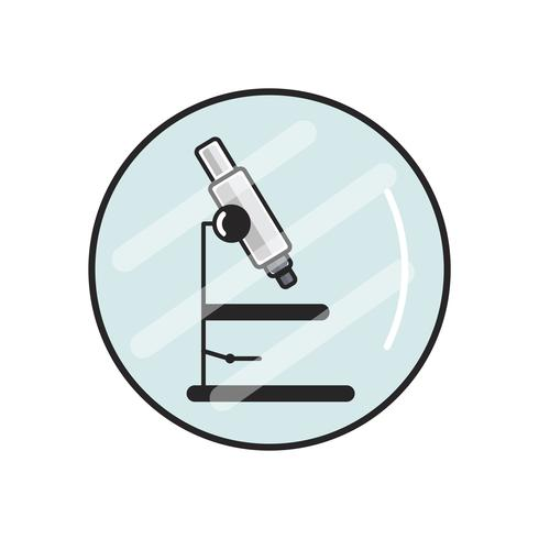 Illustrazione del microscopio