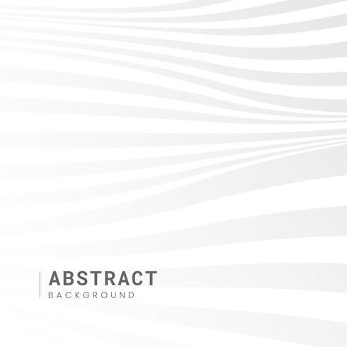 Vecteur de conception fond abstrait blanc