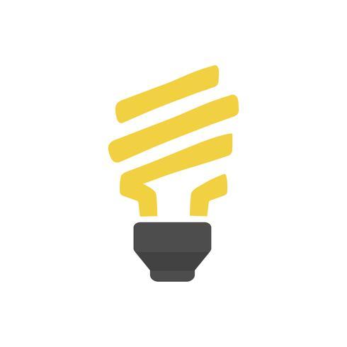 Glühlampe lokalisierte grafische Abbildung
