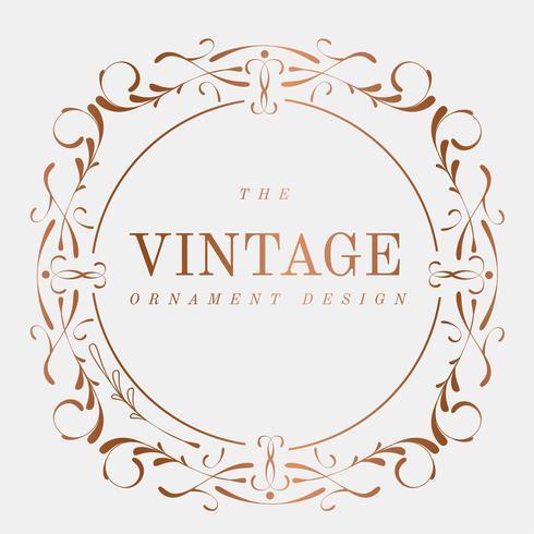 Vintage frame ontwerp