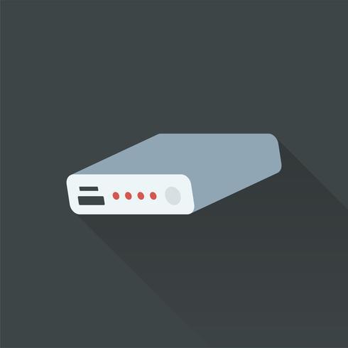Illustrazione di powerbank