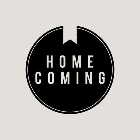 Abbildung des nach Hause kommenden Konzeptes