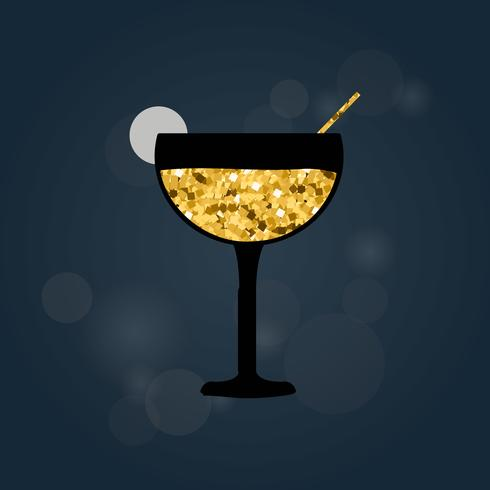 Illustration der Alkoholgetränkikone