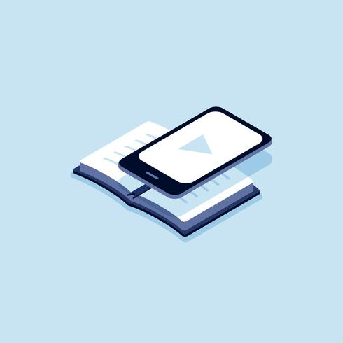 Illustration du livre électronique