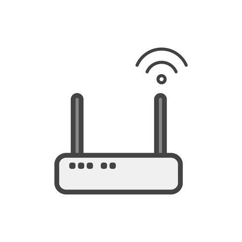 Abbildung eines Wifi-Anschlussgeräts