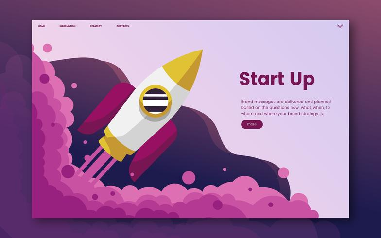 Start einer Startup-Website