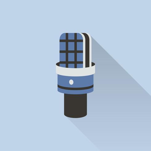 Illustration de l'icône du microphone
