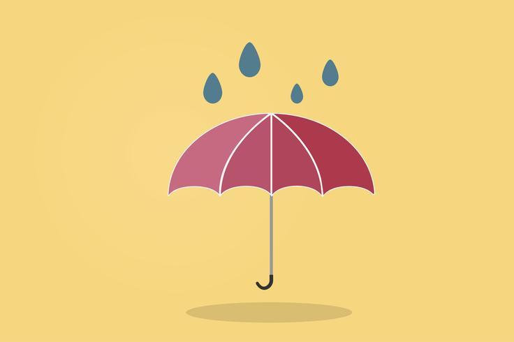 Illustration d'un parapluie