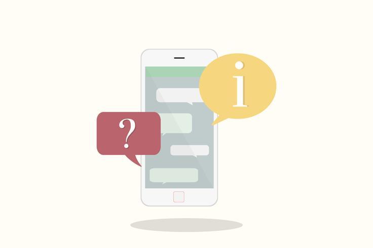Illustrazione del telefono cellulare