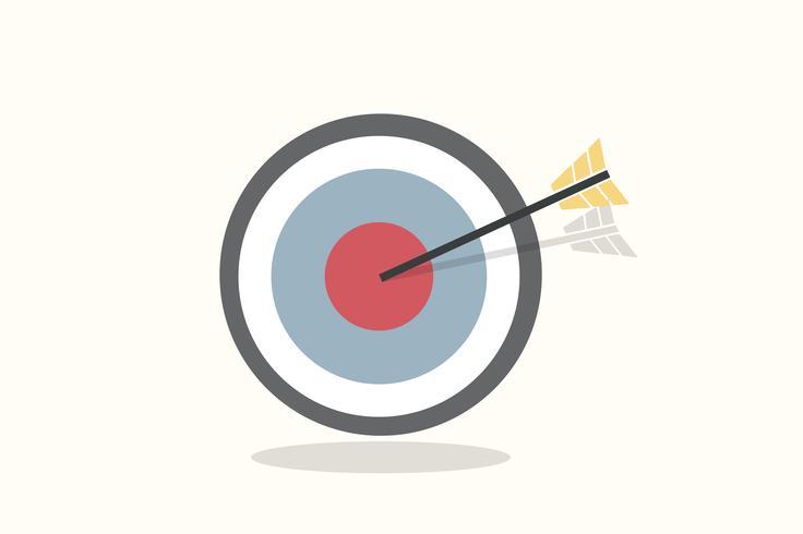 Ilustración de un objetivo