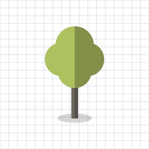 Abbildung eines geometrischen Baums