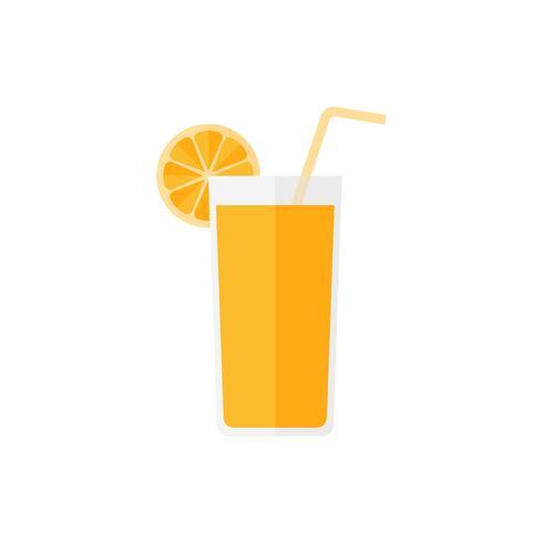 Vecteur de jus d'orange