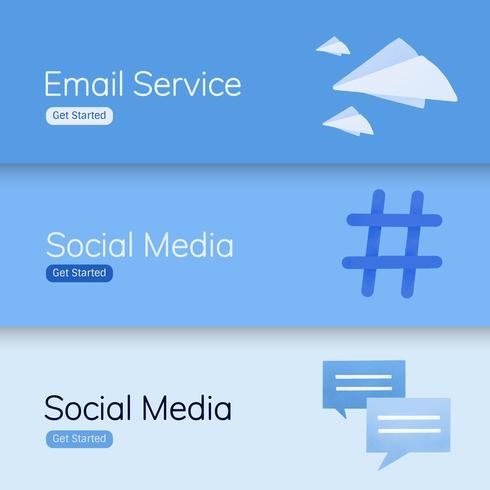 Benutzeroberfläche für Social Media-Anwendungen