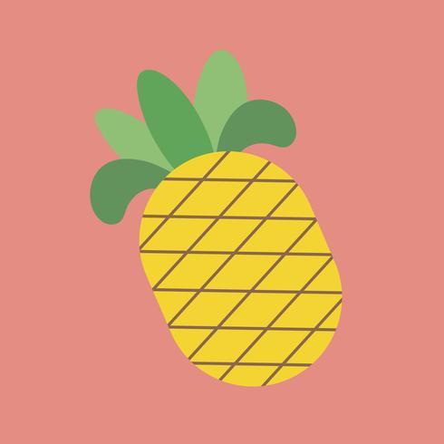 Illustratie van een ananas