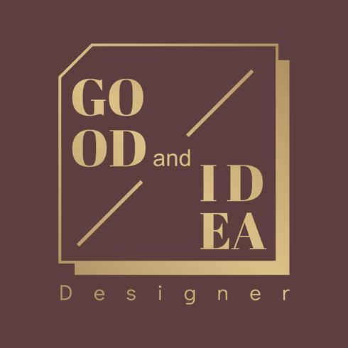 Goed logo voor ontwerpers