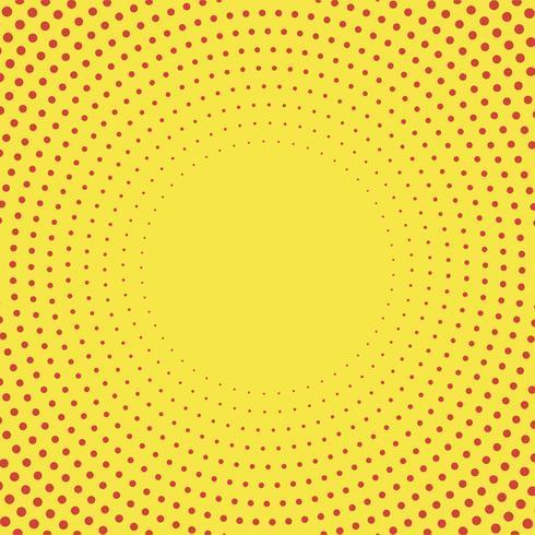 Vettore di semitono giallo sfondo sfumato
