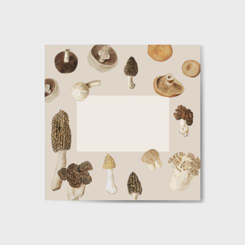 Paddestoel ontwerp frame