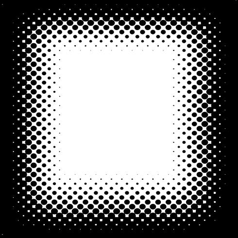 Vettore di semitono sfondo bianco e nero