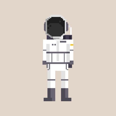 Ilustración pixel de ocupación