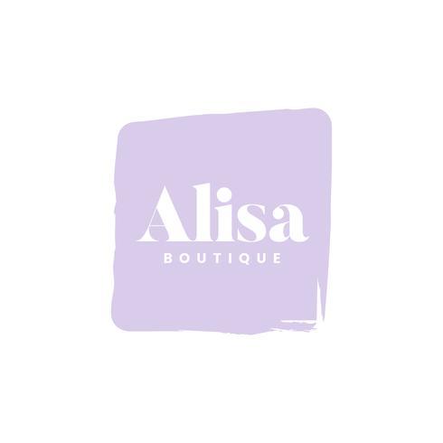 Alisa boutique logo huisstijl