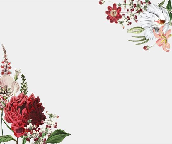Flower frame design