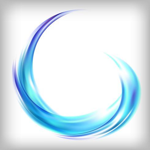 Abstract logo-ontwerp in blauw