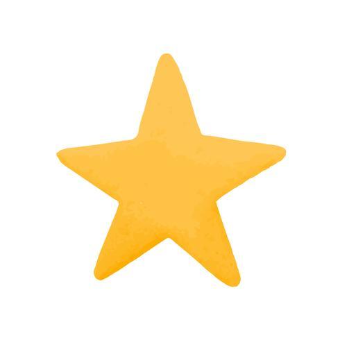 Vecteur d'icône de médias sociaux favoris