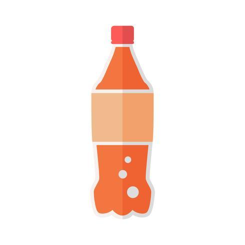 Vettore di bottiglia di soda