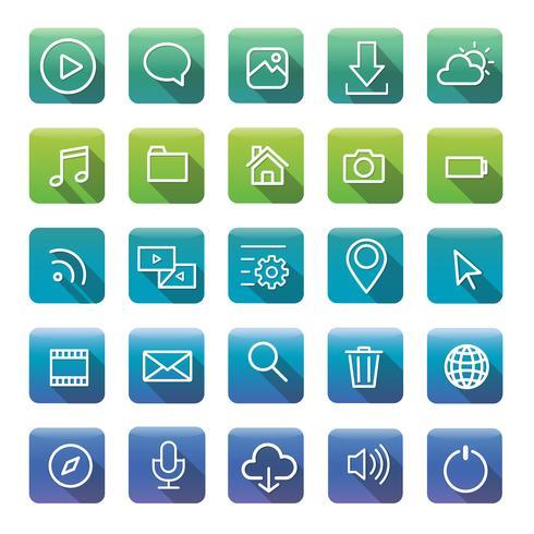 Icons and symbols set