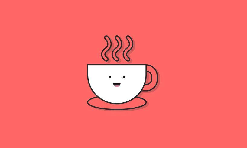 Illustration av kaffekopp