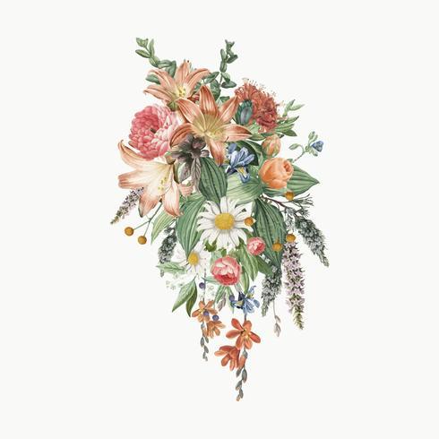 Lilly blomma bukett