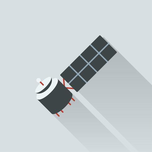 Ilustración de satélite