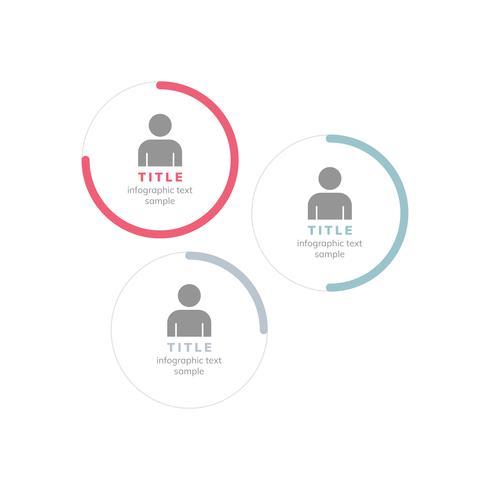 Prestatiemanager grafiek zakelijke vector