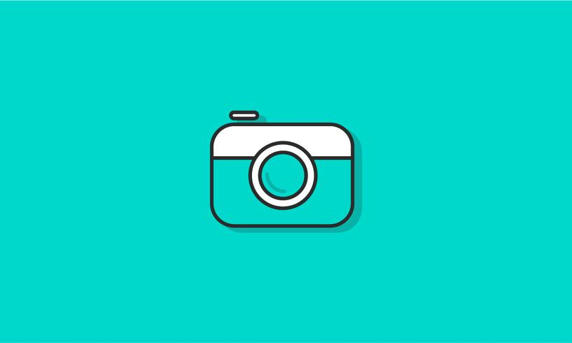 Illustration of camera icon