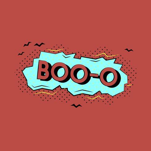 Disegno comico di una illustrazione di parola