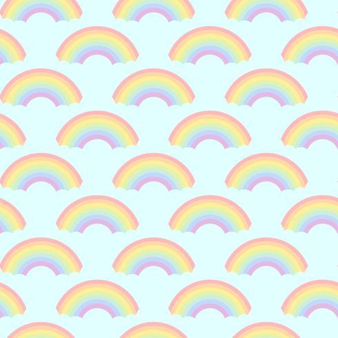 Vettore senza cuciture di progettazione dei modelli dell'arcobaleno