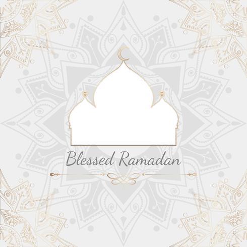 Ramadan card illustration