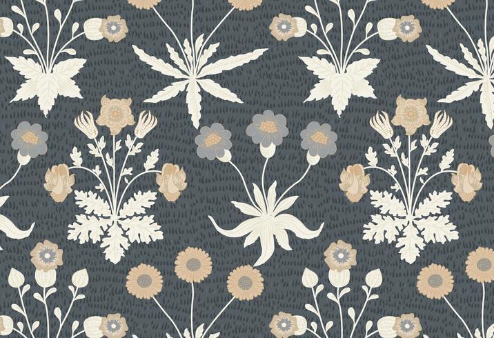 Weinlese-Illustration des Gänseblümchens