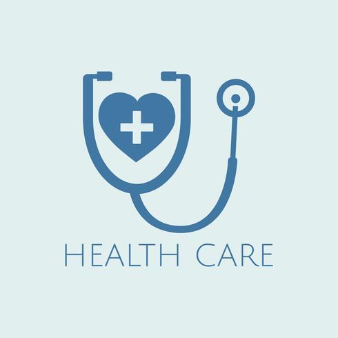Hart controle medische zorg vector