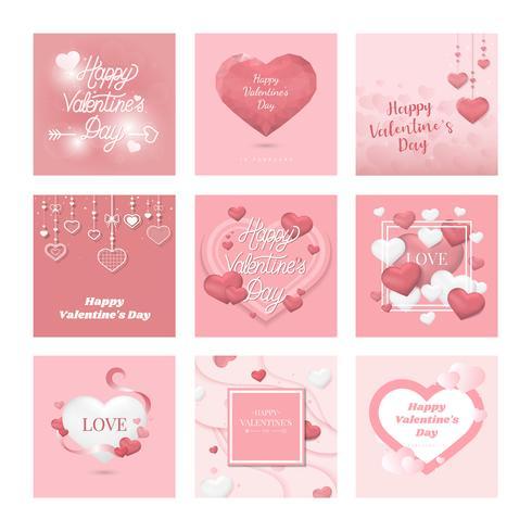 Colección de ilustración de icono de día de San Valentín