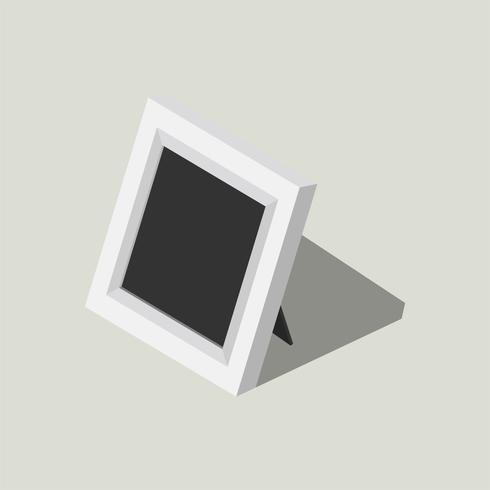 Ilustração em vetor de ícone de moldura de foto