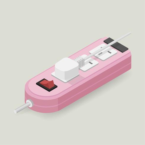 Vektor ikon för elpropp