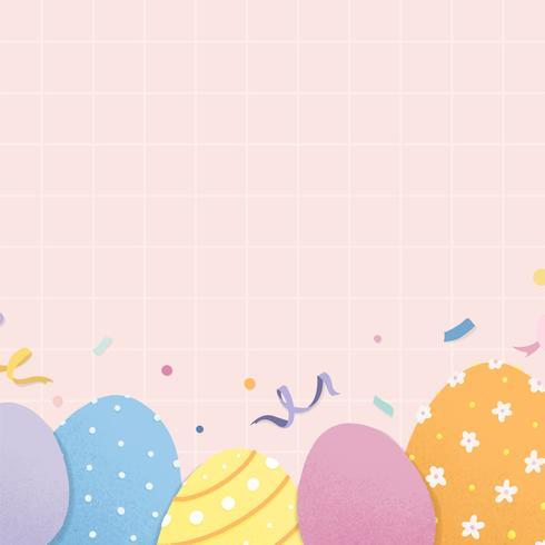Espace design sur le thème des vacances de Pâques